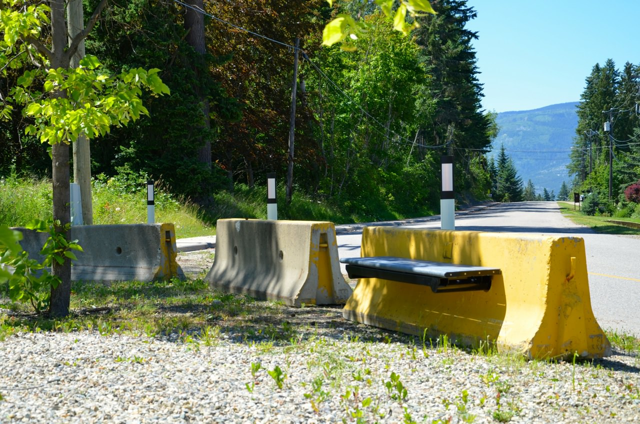 No Post Jersey Concrete Barrier Bench Wishbone Site