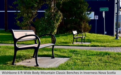Wishbone 6 ft Mountain Classic Wide Body Bench in Inverness Nova Scotia 1