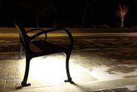 Mountain-Classic-Bench-with-LED-lighting-in-Peachland-BC