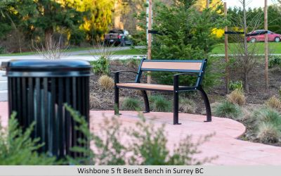 Wishbone 5 ft Beselt Bench in Surrey BC