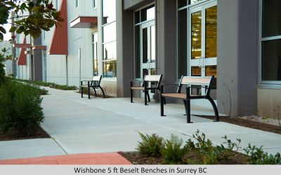 Wishbone 5 ft Beselt Benches in Surrey BC