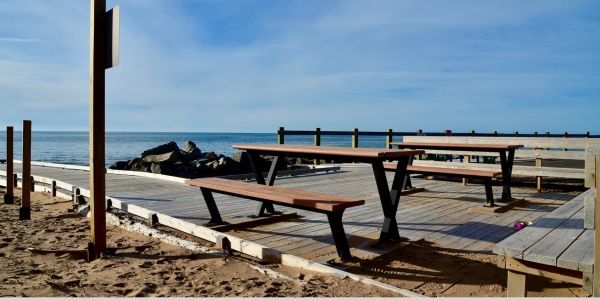 Wishbone Bayview Picnic Tables in Inverness Nova Scotia (1)