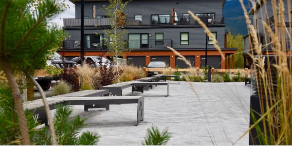 Wishbone Custom Mackenzie Benches in Revelstoke BC (1)