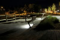 Wishbone LED BayView Benches in Invermere BC