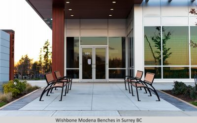 Wishbone Modena Benches in Surrey BC