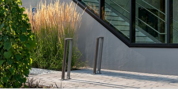 Wishbone Urban Form 2 Space Bike Racks in Surrey BC