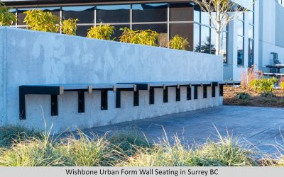 Wishbone Urban Form Wall Seating
