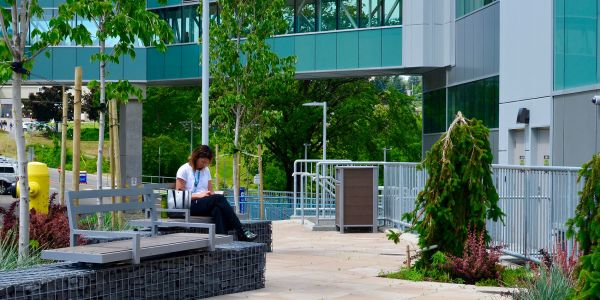 Wishbone-Custom-Skyline-Gabion-Benches-at-Royal-Inland-Hospital-in-Kamloops-BC-(1)