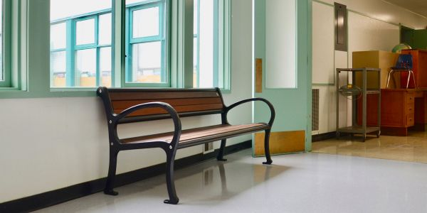 Wishbone-IPE-Mountain-Classic-Bench-at-Rosemont-Elementary-School-in-Nelson-BC