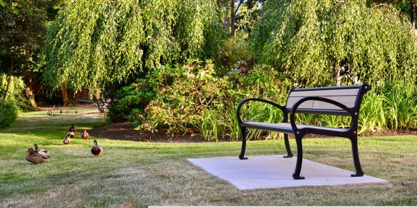 Wishbone-Mountain-Classic-Bench-in-Ladner-BC
