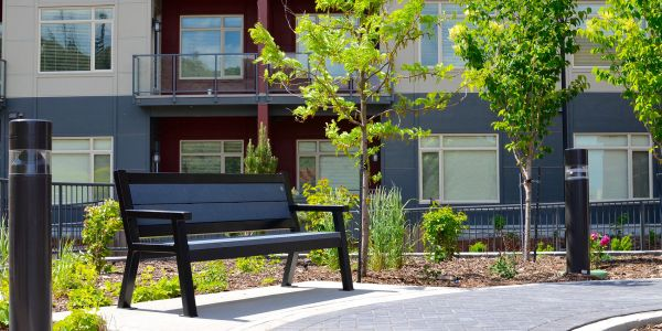 Wishbone-Rutherford-Bench-at-The-Residence-at-Orchards-Walk-in-Kamloops-BC