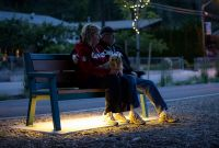 Wishbone-Rutherford-Wide-Body-Bench-with-LED-lighting-in-Peachland-BC