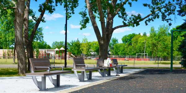 Wishbone-SurRe-Benches-at-Crestwood-Park-in-Edmonton-Alberta