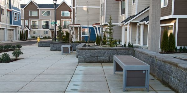 Wishbone-Urban-Form-Straight-Benches-at-The-Parc-at-Whitman-Court-in-Renton-Washington