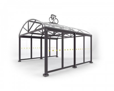 Bike Rack Shelter
