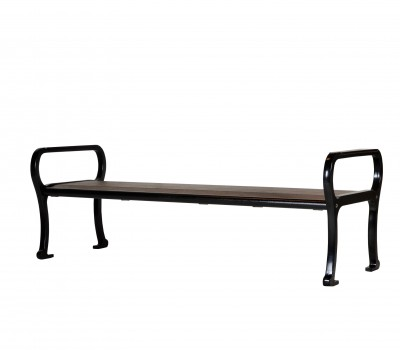 Mountain Classic Backless Park Bench
