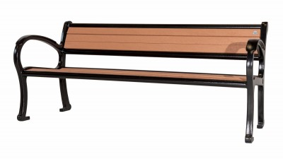 Mountain Classic Park Bench - Wide Body